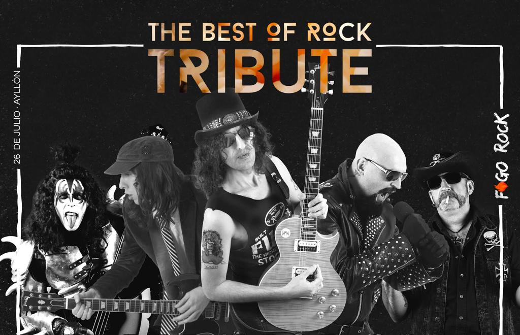The Best of Rock Tribute, primera confirmación para Fogo Rock 2019